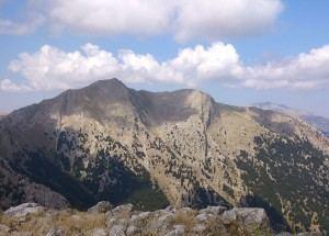 Καλλιφώνι - Ερύμανθος (όπως φαίνεται από την κορυφή Τρεις Γυναίκες)