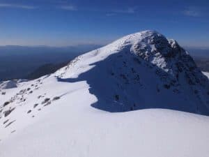 Η κορυφή Τόμαρος από τα νότια